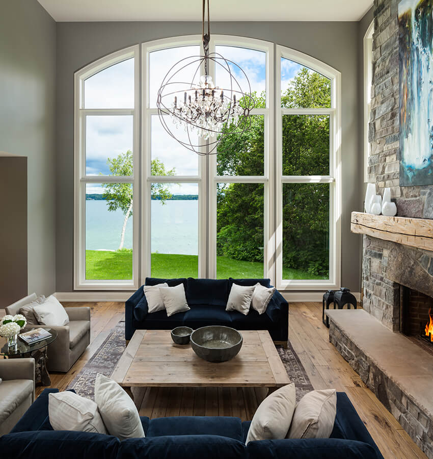 Living Room with Lakeview