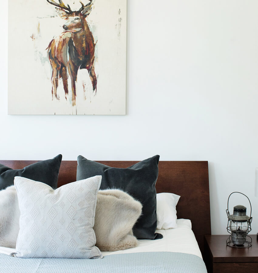 Bedroom Furniture and Wall Art
