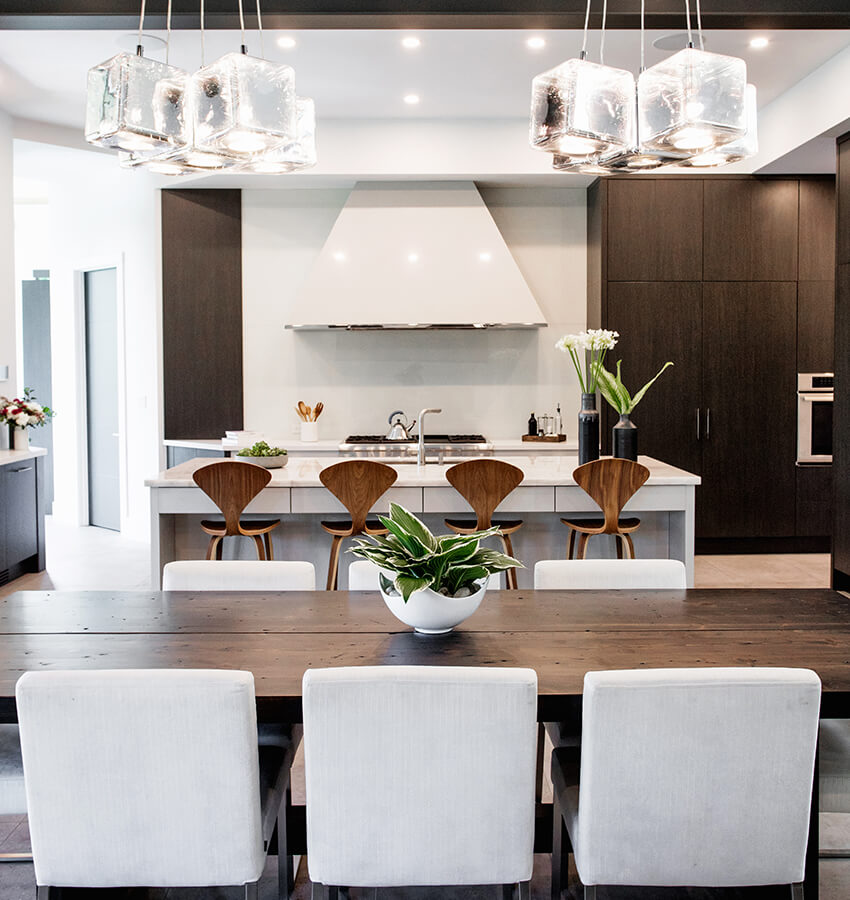 Modern Kitchen Table and Breakfast Bar