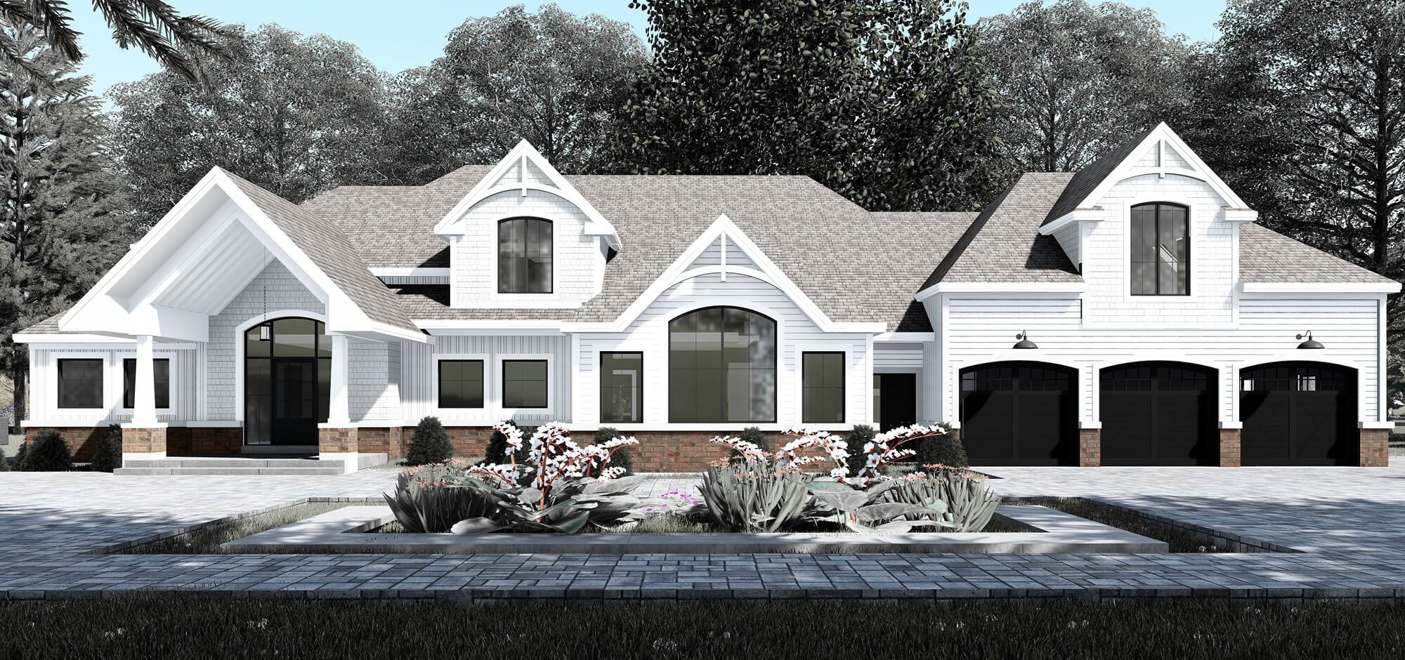 Residential Architecture Rendering