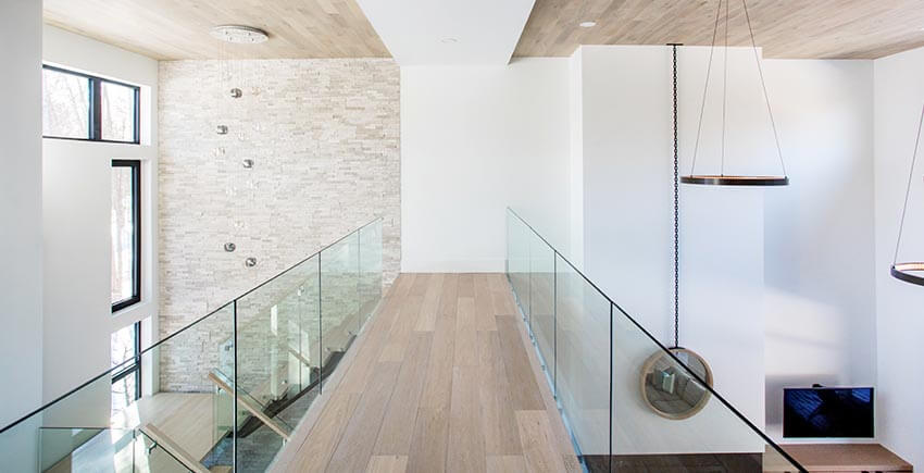Modern Home Hallway and Staircase
