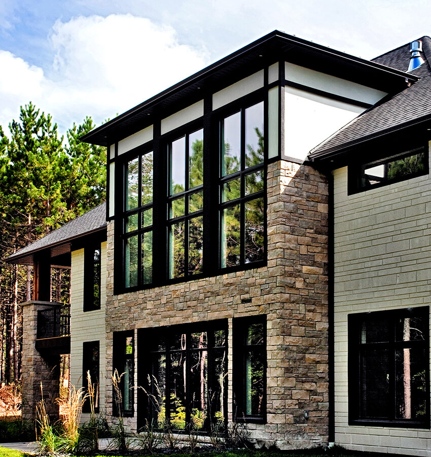 Modern Custom Home Exterior