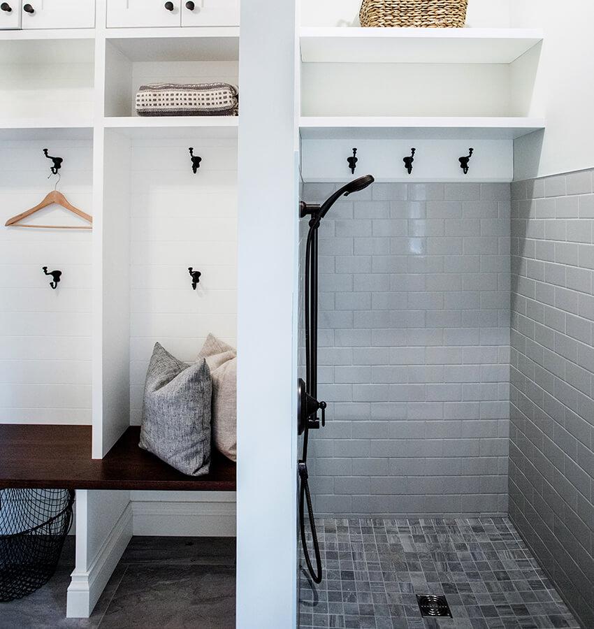 Laundry Room Dog Shower