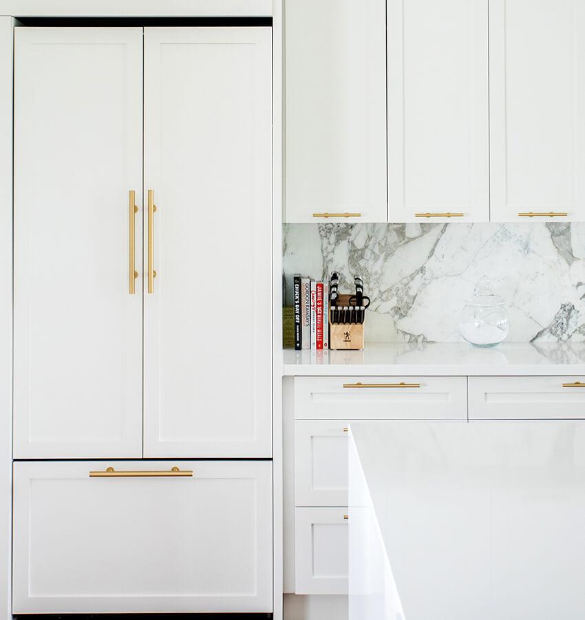 Contemporary Kitchen Fridge and Storage Design