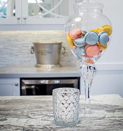 Kitchen Glassware and Cookie Jar