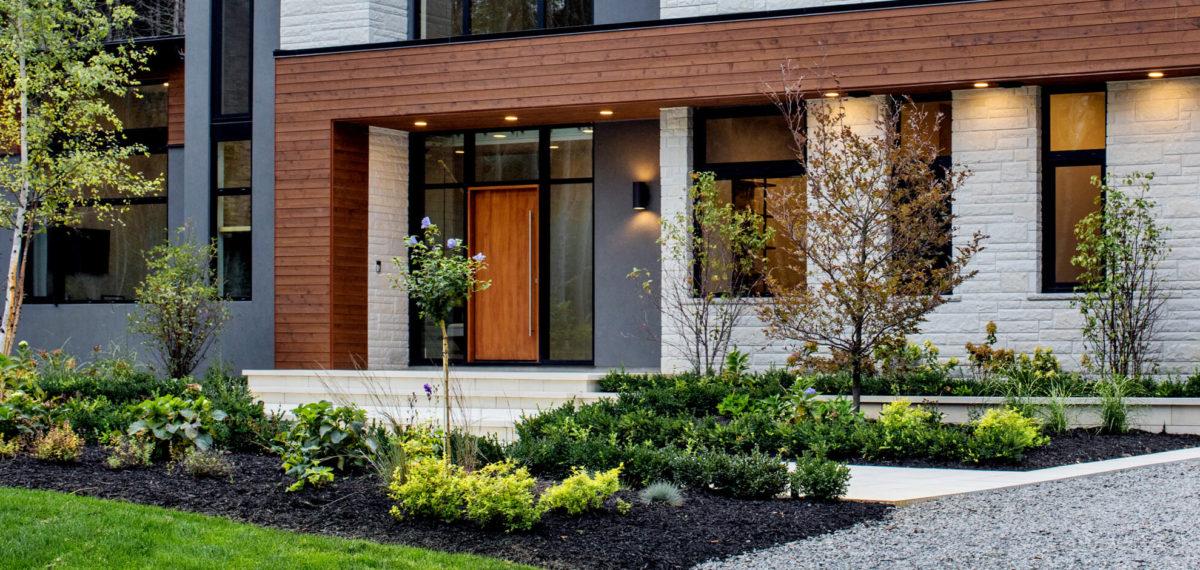 Landscaping for Front Entrance