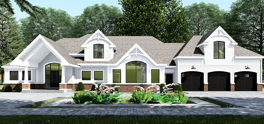 Exterior Home Rendering Front