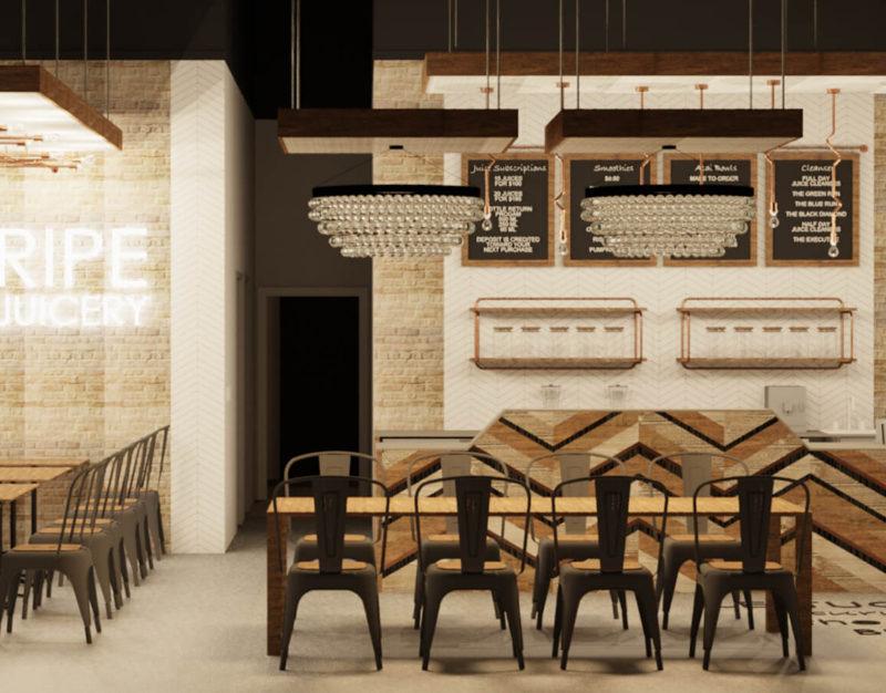 Restaurant and Retail Interior Design