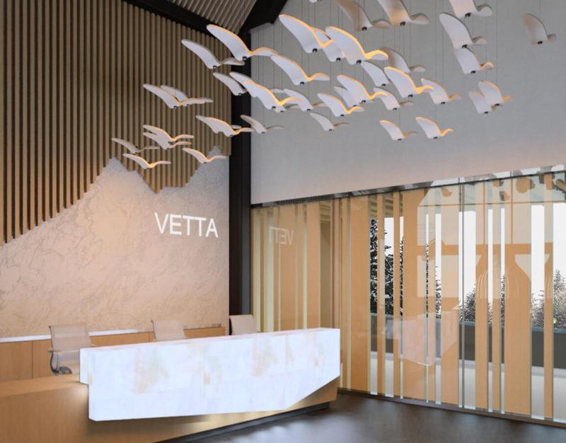 Spa Reception Desk and Front Entrance Design