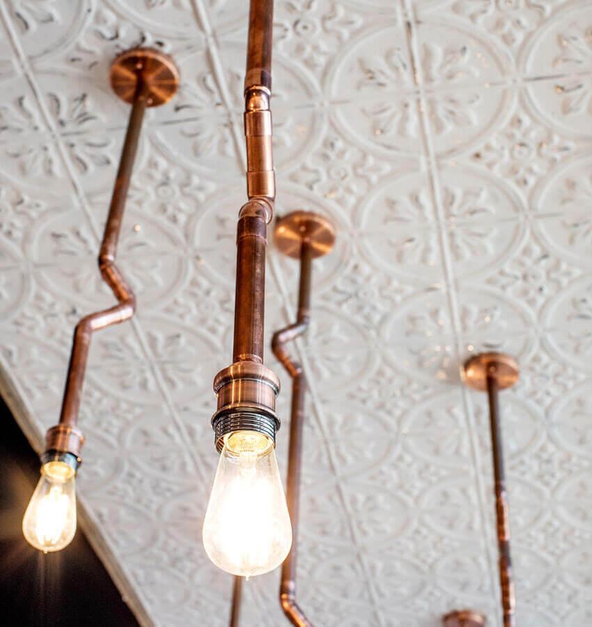 Modern Industrial Light Fixture